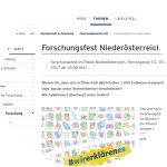 Forschungsfest Niederösterreich